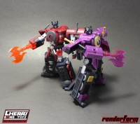 Transformers News: Renderform at Cherry Bomb Toys' 8th Ultimate Hobby and Toy Fair