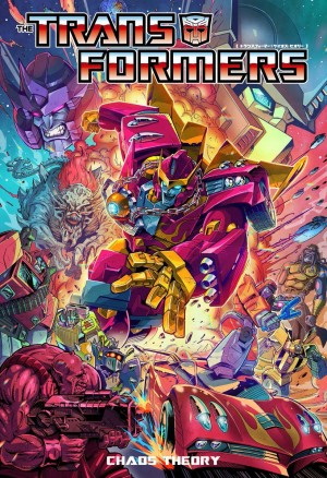 IDW Transformers Comics in Japanese Translation - Chaos Theory and Police Action