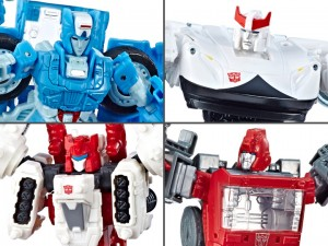 Transformers News: Video Review for Transformers Siege Deluxe Chromia, Ironhide, Sixgun and Prowl