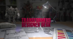 Transformers News: Transformers: Age of Extinction Toy Designers Desk Video