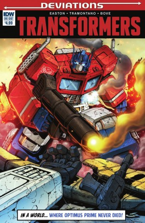 Transformers News: IDW Deviations Transformers One-Shot Preview - What if... Optimus Never Died?