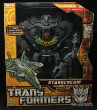 Transformers News: In Package Images of Leader Starscream