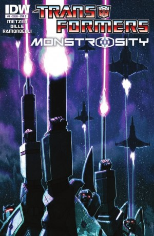 IDW Transformers: Monstrosity 4 (of 4) Review