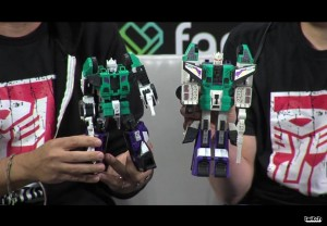 Titans Return Trypticon leg and The Last Knight Optimus Prime Helmet revealed during Hasbro's Transformers Twitch Livestream at NYCC 2016