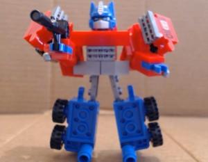 Video Review - Kre-O Battle Changers Optimus Prime