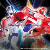 Transformers News: New Images of Animated Sons of Cybertron Rodimus and Optimus Prime
