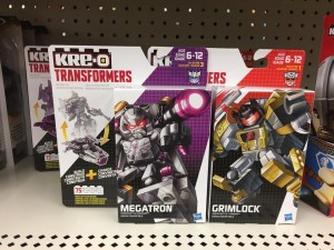 Previously Unreleased Kre-O Battle Changers Megatron and Ironhide Sighted at US Retail