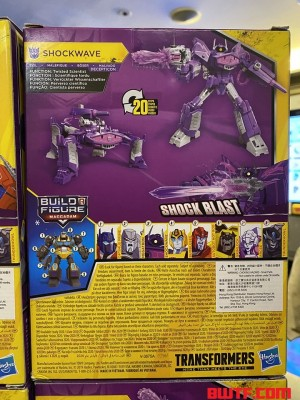 Transformers News: All 8 Cyberverse Deluxes for Build a Figure Macadam Revealed including Arcee and Thunderhowl