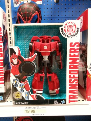 Transformers Robots in Disguise (2015) Three Step Sideswipe Spotted at Retail