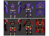 Transformers News: BTS-05A Tremor & Frequenzy, B Nightfang & Savage