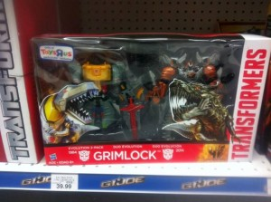 Age of Extinction: Evolutions Grimlock Two-Pack Sighted in Retail