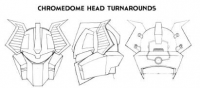 Transformers News: TFSS 2.0 Chromedome Head Concept Revealed