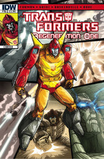 Transformers News: Sneak Peek: Transformers: Regeneration One #96