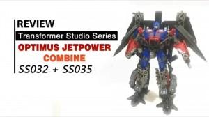 Video Reviews of Transformers Studio Series Jetpower Optimus Prime and #34 Dark of the Moon Megatron