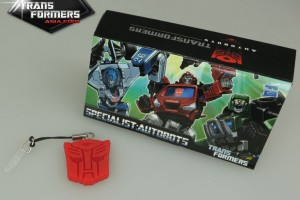 Earphone Cap Plug Promotion for Autobot Specialists Set