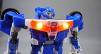 Takara Tomy Transformers Go! Kenzan Videos Showing Electronic Lights and Sounds
