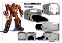 Transformers News: Fansproject Rumors: Protector Armor in Q1 2010 and Bruticus appendages