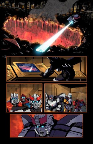 Sneak Peek - Dawn Of The Predacus Preview Unlettered Pages