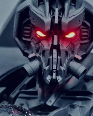 Transformers News: New Transformers Bumblebee Movie Blitzwing Prime 1 Studio Headsculpt Teaser #JoinTheBuzz
