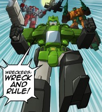 Transformers News: TFcon 2012 Live Script Reading Prelude Comic