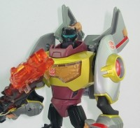 Toy Images of Takara Animated Lugnut, Starscream & Grimlock