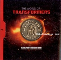 Transformers News: RobotKingdom Posts Images of Collector's Coin Packaged With Masterpiece Rodimus Prime