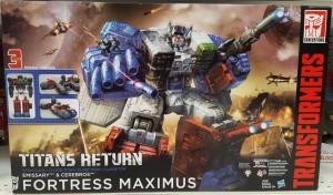Transformers Titans Return Titan Class Fortress Maximus U.S. Sightings
