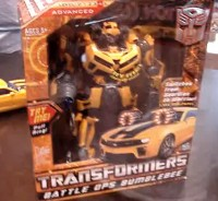 Transformers News: More Video from Botcon: Battle Ops Bumblebee