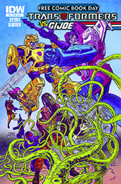 Transformers News: Free Comic Book Day: Transformers vs G.I. Joe - Interview with Tom Scioli and John Barber