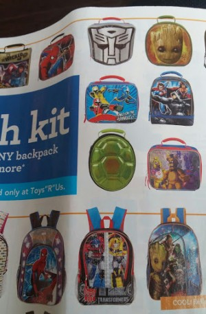Transformers: Robots in Disguise Backpack and Autobot Symbol Lunch bag Revealed