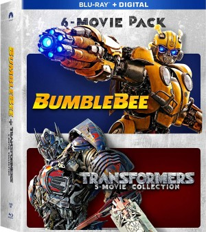 Transformers News: Blu-Ray Transformers Six Movie Collection available for pre-order on Amazon!