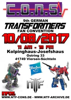 C.O.N.S. IX German Transformers Fan Convention - 8 October 2017