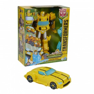 Commercial Showing New Cyberverse Bumblebee Toy Roll N Change Gimmick