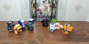 Transformers News: Video Reviews of Transformers BotBots Toilet Troop and Techie Teams