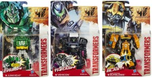 Transformers News: Official Junkheap, Vehicon And High Octane Bumblebee Power Battlers In Package Images