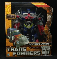 Transformers News: In-Package Images of 'Battle Hooks' Leader Optimus Prime
