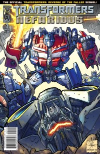 Transformers: Nefarious #2 - Five Page Preview