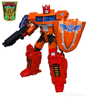 Transformers News: BotCon 2014 Final Exclusive Figure Revealed - Fire Guts Ginrai