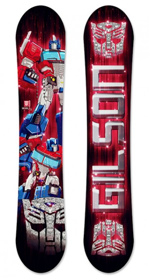 Transformers News: New Transformers Snowboards and Skis From Gilson With Optimus Prime, Bumblebee, Megatron, More