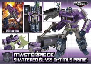 Transformers News: Robot Kingdom Newsletter #1344: MP Shattered Glass Optimus Prime, Titans Return Stickers, and More