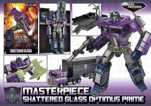 Robot Kingdom Newsletter #1344: MP Shattered Glass Optimus Prime, Titans Return Stickers, and More