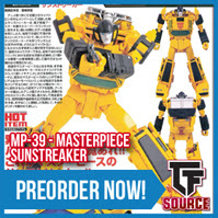 TFsource News! MP-36 Megatron Reissue, MP-39 Sunstreaker, FT Phoenix, MT Striker Noir & More!