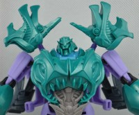 Transformers News: Transformers Prime Beast Hunters Voyager Sharkticon Megatron Prototype Images