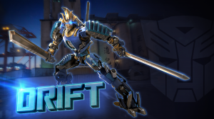 Spotlight on Drift from Transformers: Forged to Fight with new Video and Developer Interview