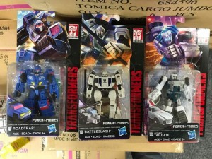 Transformers News: Transformers Power of the Primes Tailgate, Roadtrap, and Battleslash (Battletrap) Leaked