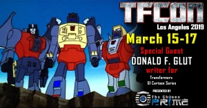 Transformers News: TFcon USA 2019 Guest Update - Donald F. Glut