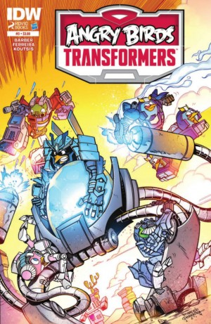 Transformers News: IDW Publishing Angry Birds Transformers #3 Full Preview