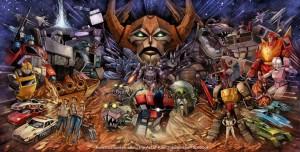 Transformers News: IDW Transformers 30th Anniversary Ken Christiansen Interlocked Covers