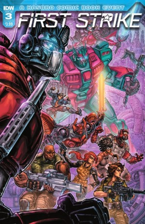 Full Preview for IDW First Strike #3 #HasbroFirstStrike