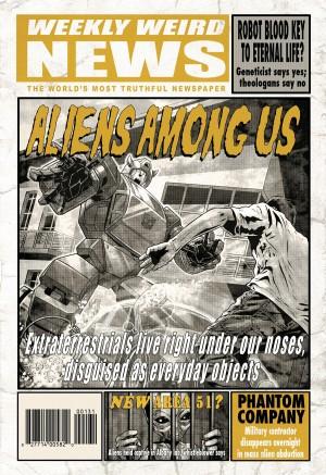 Transformers News: Sneak Peek - The X-Files Conspiracy: Transformers (and TMNT)